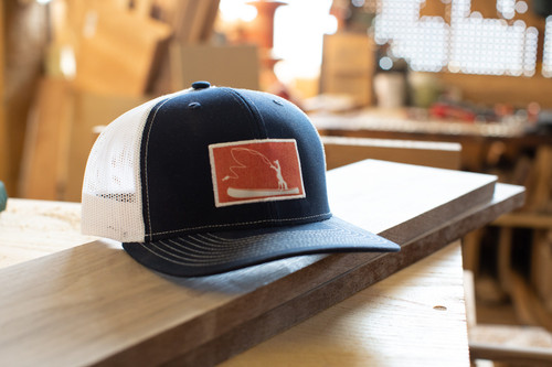 Fishing Fox Trucker Hat