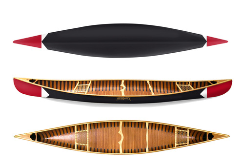 Sanborn Canoe Co + Merrimack Canoe Co Pickwick Canoe