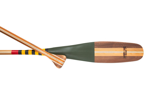 Mackinac painted canoe paddle.