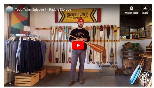 Todd Talks: Episode 1 - Paddle Storage