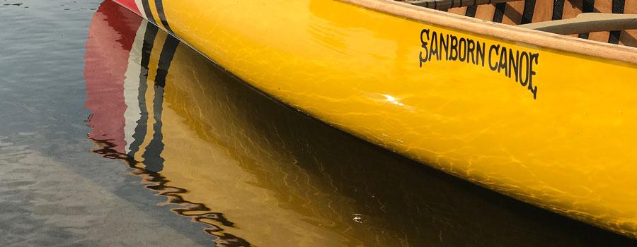 Sanborn Canoe On The Water
