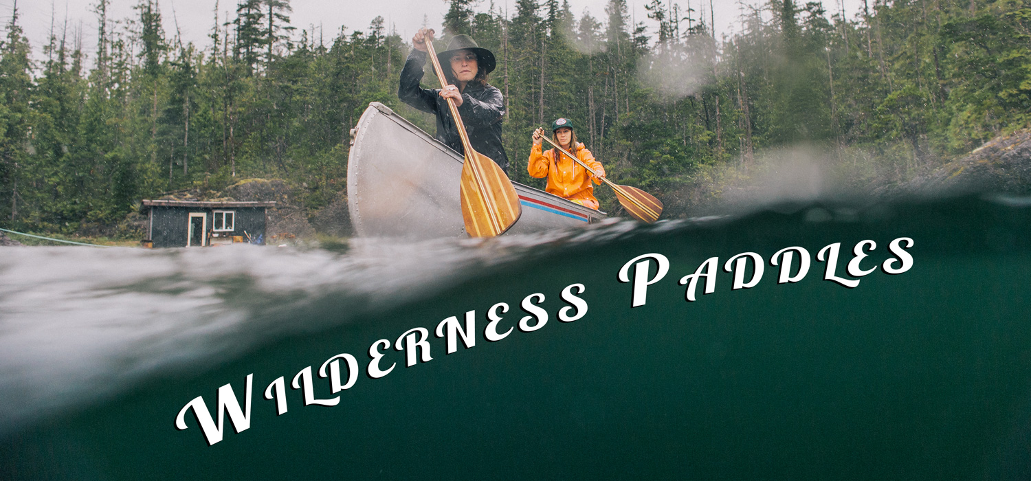 Wilderness Paddles - Sanborn Canoe Co