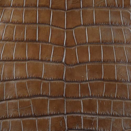 Lucchese Brown Alligator Skin