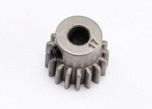 TRA5643 -- Gear, 17-T pinion (0.8 metric pitch, compatible with 32-pitch)