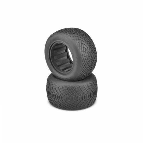 JConcepts Ellipse-Silver Compound 2.2 F/R Truck Wheel JCO319906