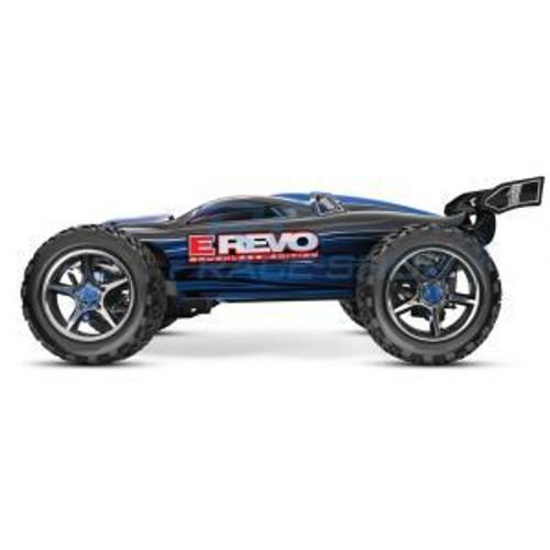 TRA56086-4 - E-Revo Series 1/10 Scale Black 4WD Brushless