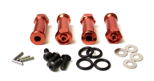 RCE1848R -- Slash 4WD Aluminum Widening Kit - Red