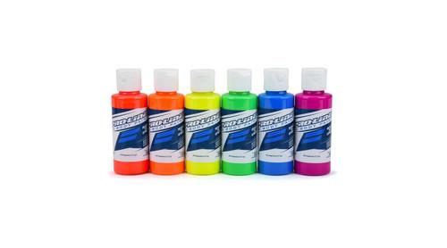 RC Body Paint Fluorescent Color (6 Pack) (PRO632303)