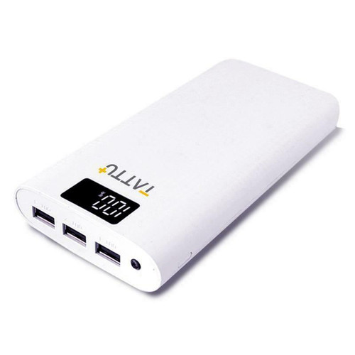 Tattu 10400mAh Power Bank Portable External Charger for iPhone, iPad and Android
