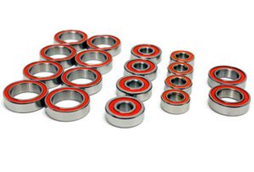TEP3048 - TLR 22X-4 Certified Red Seal Ceramic Ball Bearings (18pcs)
