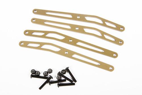 Axial Racing AX31244 Upper Link Plate Set Aluminum (4)