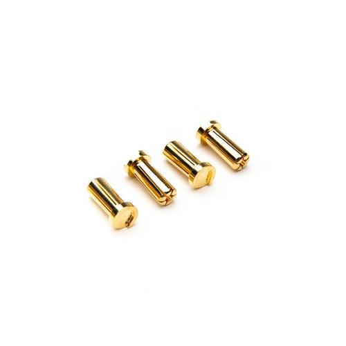 Low Profile Connectors: Bullet, 5mm (4) -- DYNC0176