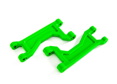 TRA8929G -- Suspension Arms Upper Green (2)