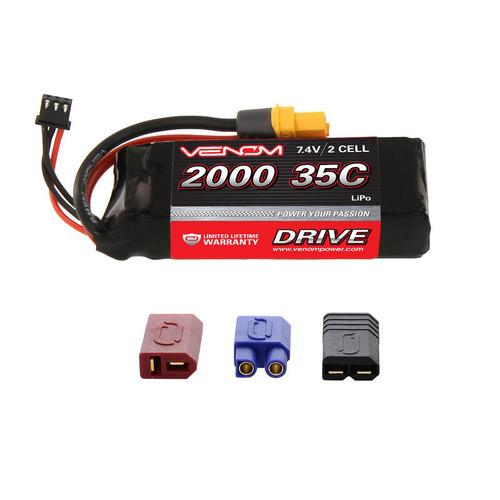VNR15107 -- DRIVE 35C 2S 2000mAh 7.4V LiPo : UNI 2.0 Plug