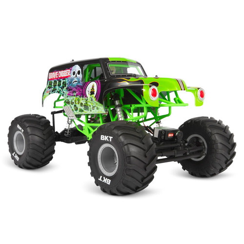 AXI03019 -- 1/10 SMT10 Grave Digger 4WD Monster Truck Brushed RTR