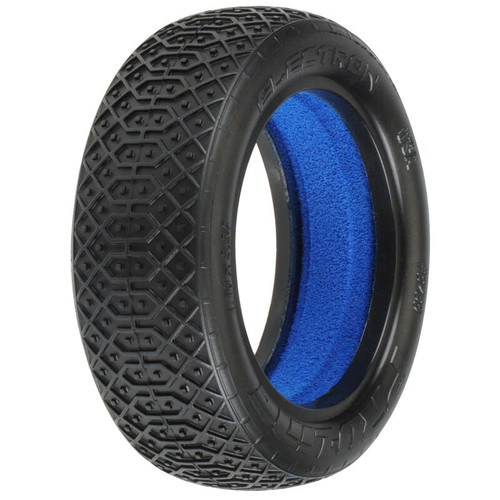 PRO823903 -- 1/10 Front Electron 2.2 2WD M4 Tires with Closed Cell Foam inserts: Off-Road Buggy (2)
