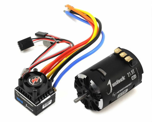 HWI38020242 -- XR10 Justock ESC, w/ Justock 3650 SD G2.1 Sensored Brushless Motor (21.5 Turn) - Combo
