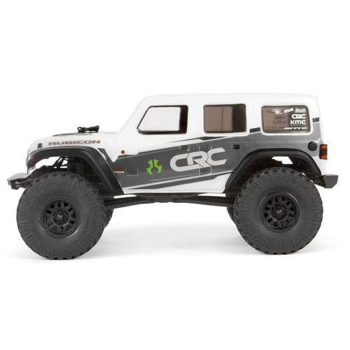 Axi00002t1 -- 1/24 SCX24 2019 Jeep Wrangler JLU CRC 4WD Rock Crawler Brushed RTR, White