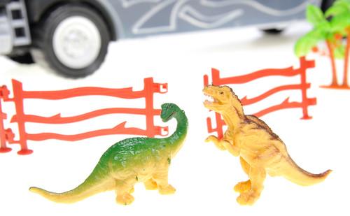 Dinosaur Transport Truck - 13 Different Unique Transportable Pieces