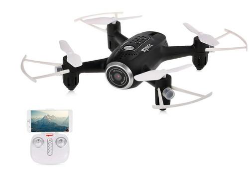Syma X22W Wifi FPV Pocket Drone HD Camera (Black)