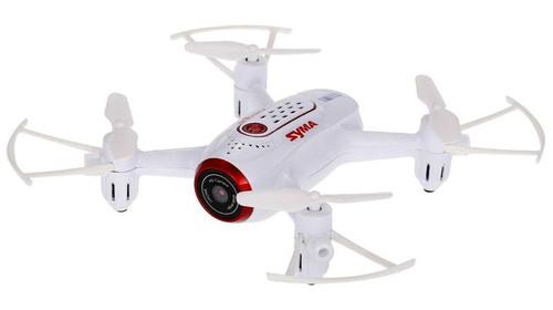 Syma X22W Wifi FPV Pocket Drone HD Camera (White)