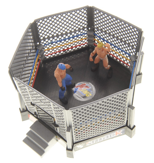 Wrestling Toy Figure Play Set With Ring