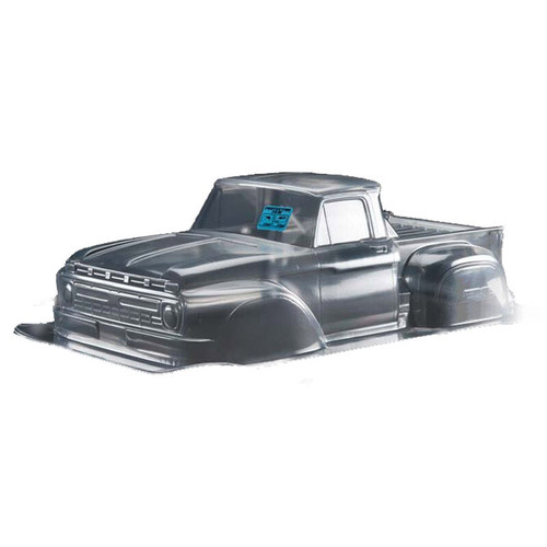 PRO340800 -- Clear Body, 1966 Ford F-150: 1/10 Slash