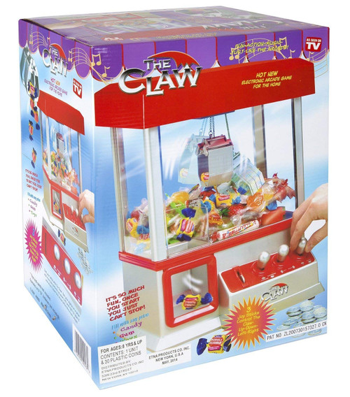 Carnival Crane Claw Game - Features Animation and Sounds for Exciting Pretend Play
