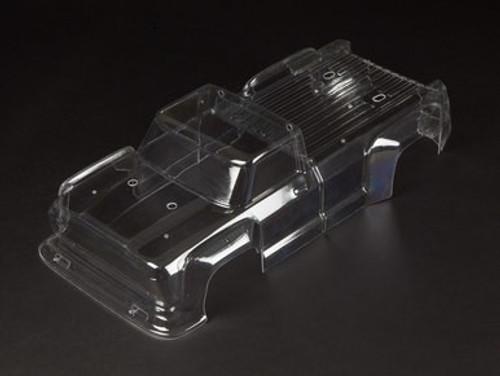 AR406086 -- Outcast 6S BLX Clear Bodyshell (inc. Decals) (ARAC3314)