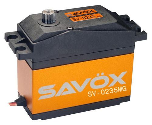 SAVSV0235MG  High Voltage 1/5 Scale Servo 0.15/486 @7.4V