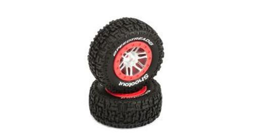 DYN5126 SpeedTreads Shootout SC Tires Mounted