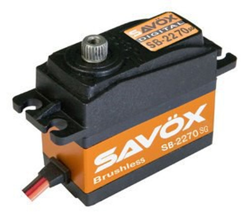 HIGH VOLTAGE BRUSHLESS DIGITAL SERVO .12/444 @7.4V