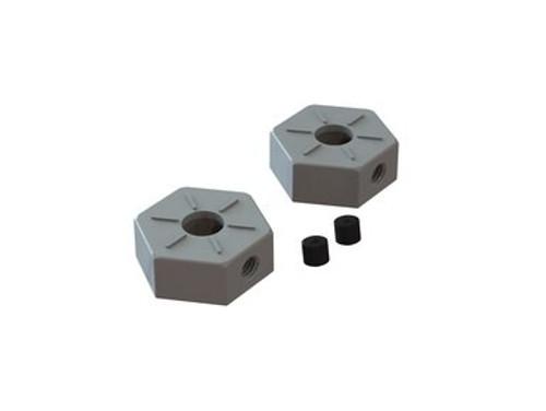 AR310871 -- Wheel Hex Metal 14mm (2): BLX 3S