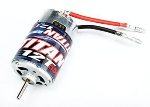 TRA3785 -- Traxxas Titan 550 12T Motor Stampede/Rustler