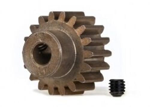 TRA6491X - 18T pinion (1.0 metric pitch) (fits 5mm shaft)