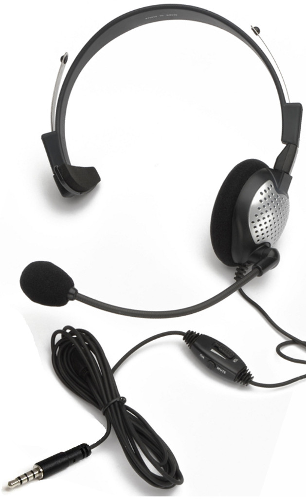 NC-181M On-Ear Mono (Monaural) Headset