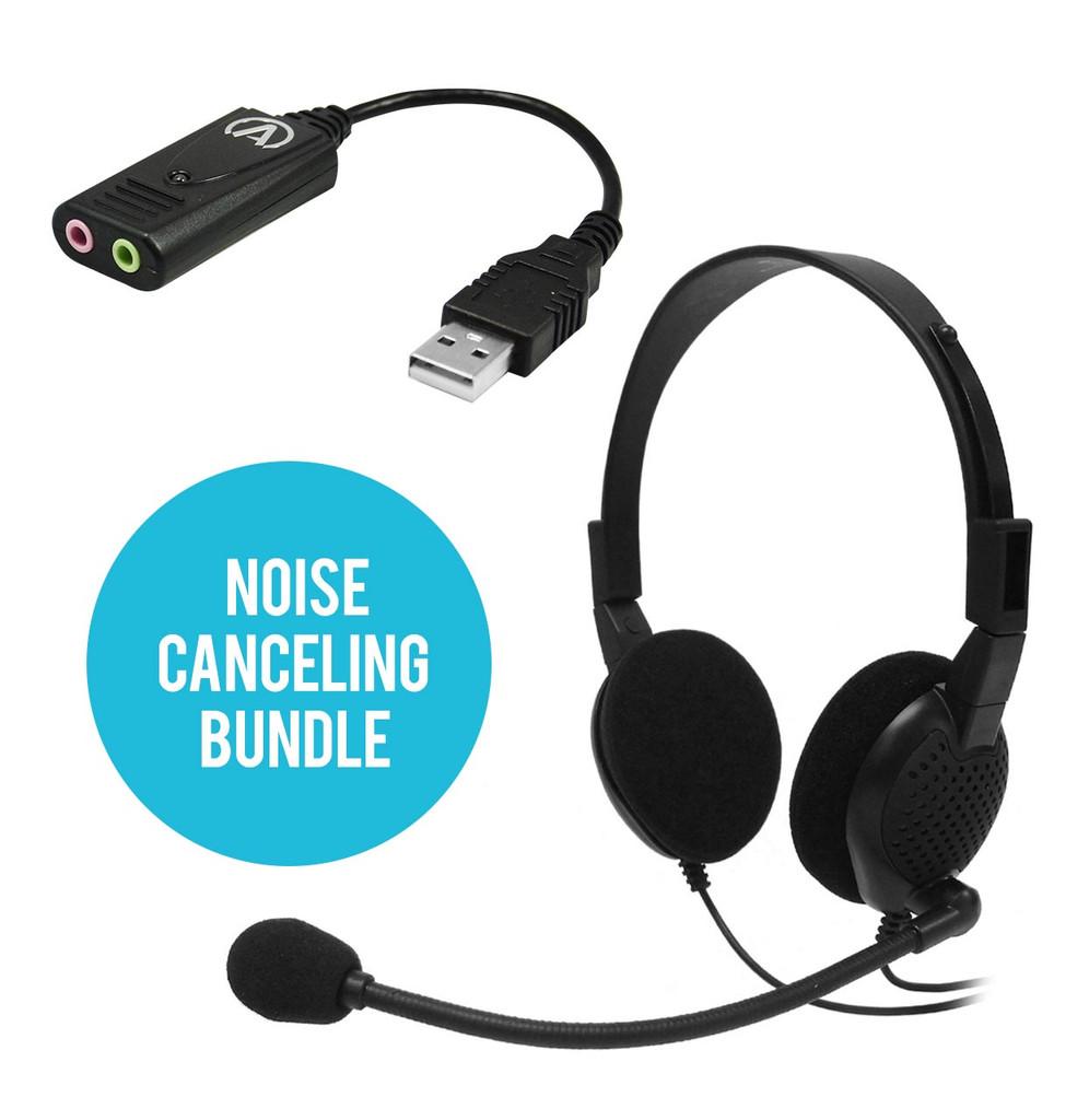 ANC-750L/USB-SA Noise-Canceling Bundle