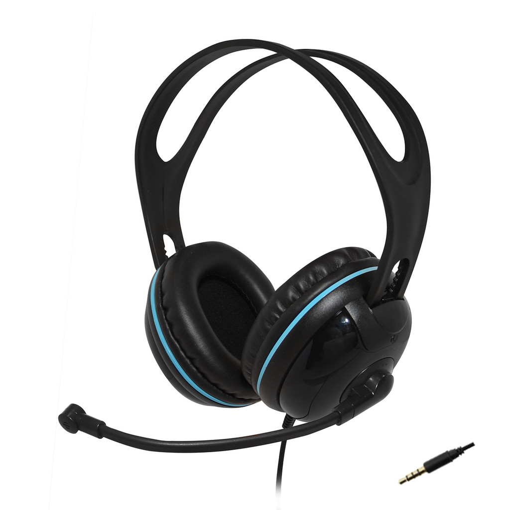 EDU-455MW Over-Ear (Circumaural) Stereo Mobile Headset (Not compatible with Apple products)
