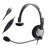 NC-181 VM USB  On-Ear Mono (Monaural) Headset