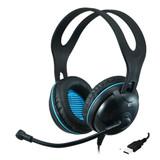 EDU-455 USB Over-Ear (Circumaural) Stereo Headset