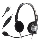 NC-185VM USB On-Ear Stereo Headset