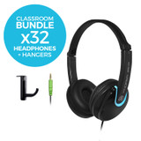 EDU-175 Classroom Headphones Bundle
