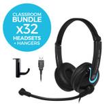 EDU-255 USB Classroom Headset Bundle