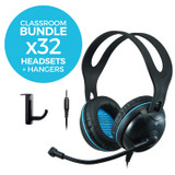 EDU-455M Classroom Headset Bundle