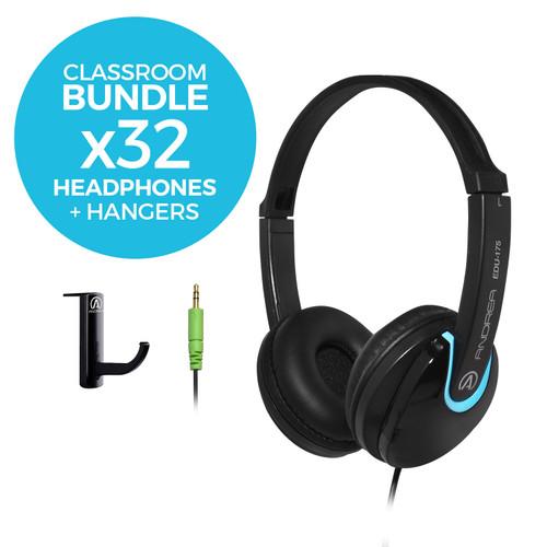 EDU-175 Classroom Headphones Bundle