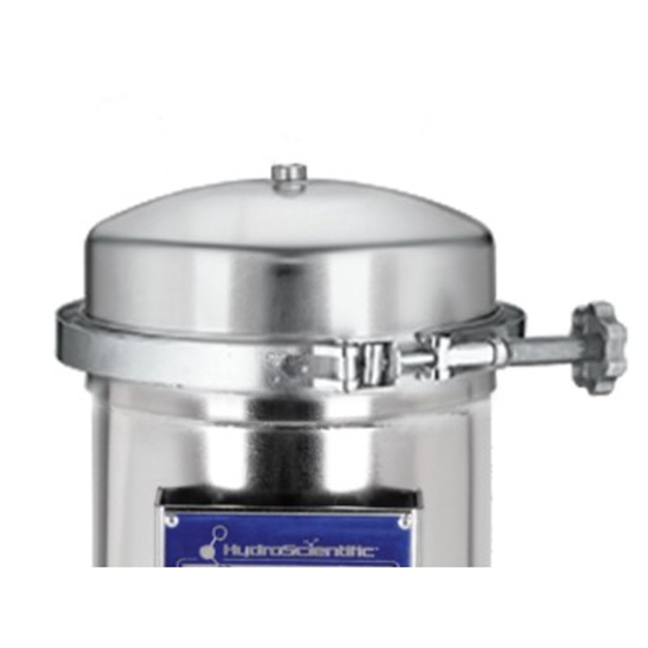 """MRH Series 2.75"""" Multi Round 304SS Filter Housing with Band Clamp"""