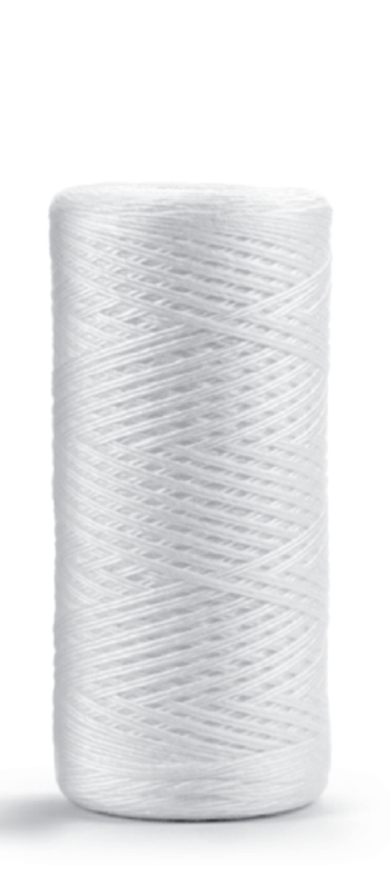 """SWX Series 2.5"""" String Wound Poly Filters with Poly Core, Max Temp 140°F"""