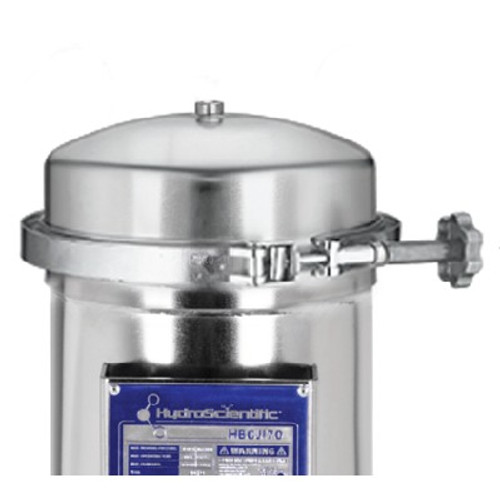 HBCJ Series Jumbo 304 SS Filter Housing with Band Clamp
