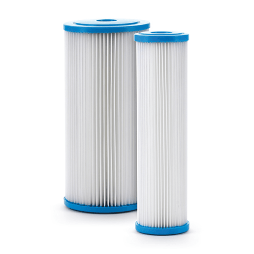 """SPX Series 4.5"""" Pleated Poly Filters with Poly Core, Max Temp 140°F"""