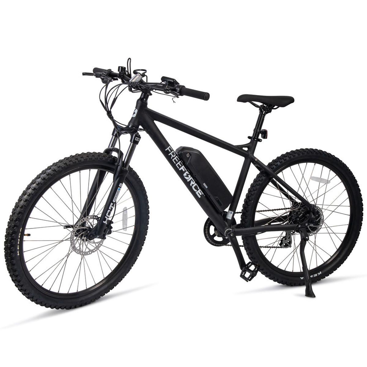 "The Denver Electric Mountain Bike - Matte Black 20"" Frame"